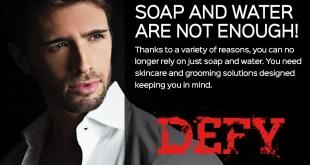 DEFY : La Gamme de Soins pour la peau qui intensifie votre rituel demâle alpha