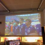 FIFA ワールドカップ ロシア ヒガシマツシマエアベースにて観戦