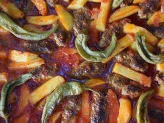 fırında köfte patates tarifi