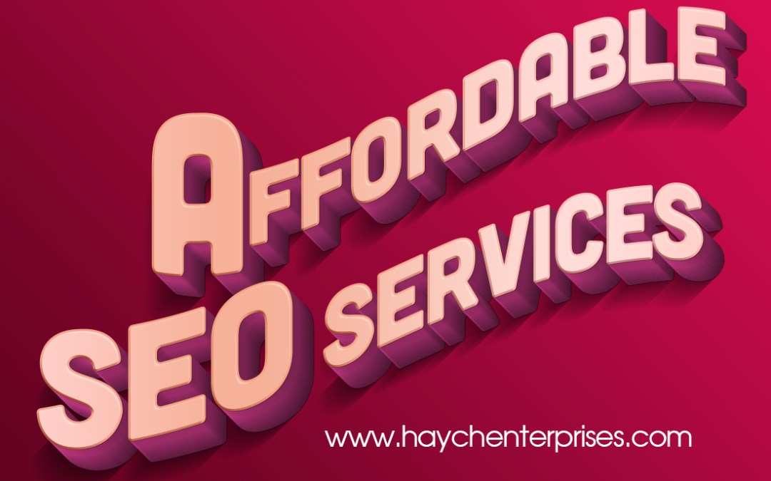 Affordable SEO Services – NOT CHEAP