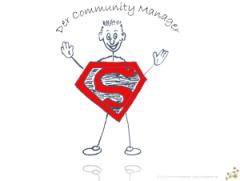 Supermann als PPT Deckblatt