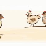 Wie aus einer Feder 5 tote Hühner wurden!
