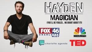 Hayden has been featured on Fox, NBC, TEDxCharlotte, and Charlotte Agenda