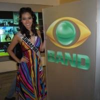 CELEBRITY SPOTTING – MISS UNIVERSE SINGAPORE 2011 in Brazil wearing HAYDEN