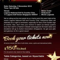 "Courts + O'Connors & Friends Present ""HOLLYWOOD GLAM"" Charity Party 2012 - Sat, 3 November 2012"
