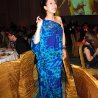 Pat Mok wears my ONE.OF.A.KIND to Fann Wong's wedding!