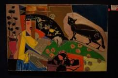 "Assem Abdel Fattah: ""Lady with her cat"""
