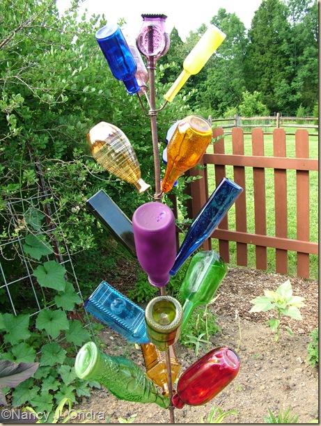Bottle tree in Happy Garden