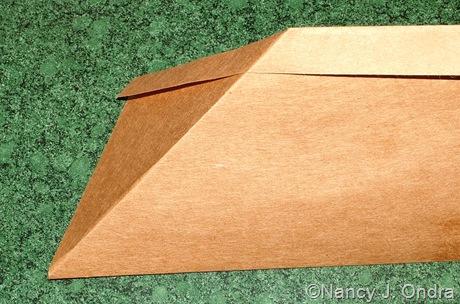 Origami seed envelope
