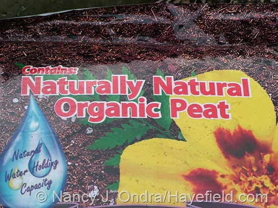 Potting Soil Label