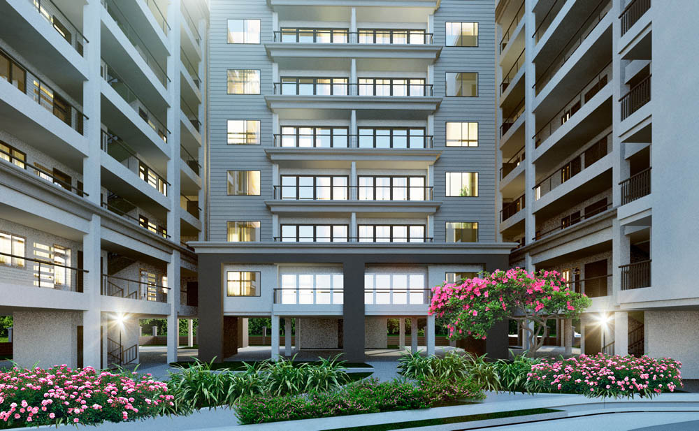 2 bedroom apartments in kileleshwa  (study room +DSQ) -The-Crescent
