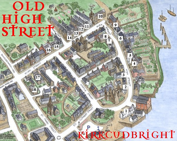 Map of Historic High Street