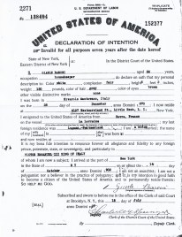 Jean Baron Declaration Of Intention