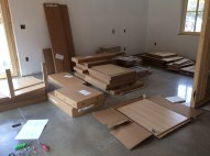 Ikea cabinets ready to assemble