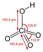 Hcl04 : hcl04, Structure, HClO4, Chemistry, Questions