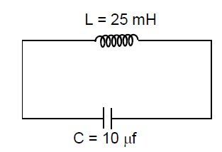 If Maximum Energy Is Stored In Capacitor At T 0 Then Find The