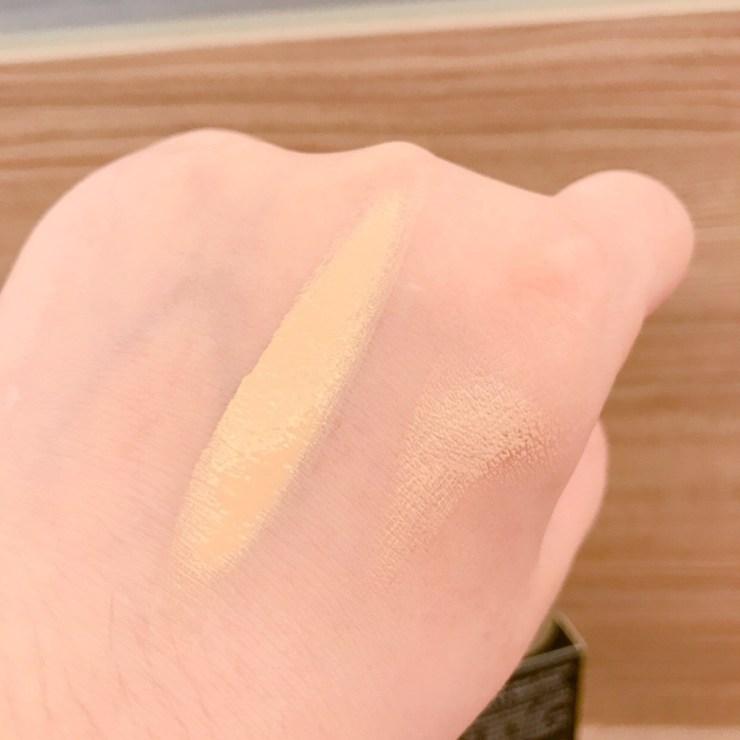 Dr.CINK高解析絲絨柔焦cc霜(自然款)SPF35★★★ 上在肌膚的負擔感不大,遮瑕力也非常足夠,也不太會脫妝暗沉 彩妝品分享 攝影 民生資訊分享