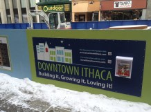 The Downtown Ithaca Alliance continues to promote the Commons.