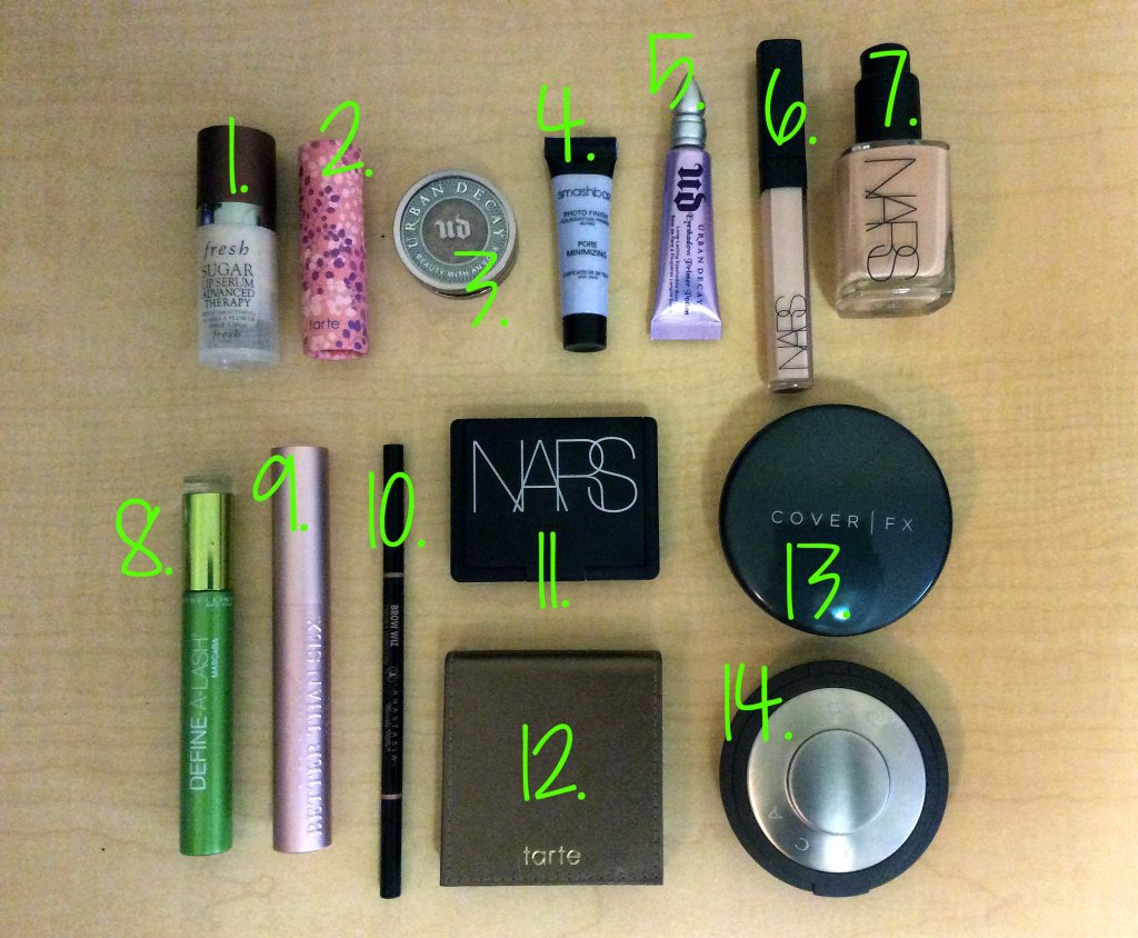 What's in my Makeup Bag: Essentials
