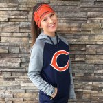 Fashionable at a Football Game   NFL Bears   Hayle Olson   www.hayleolson.com