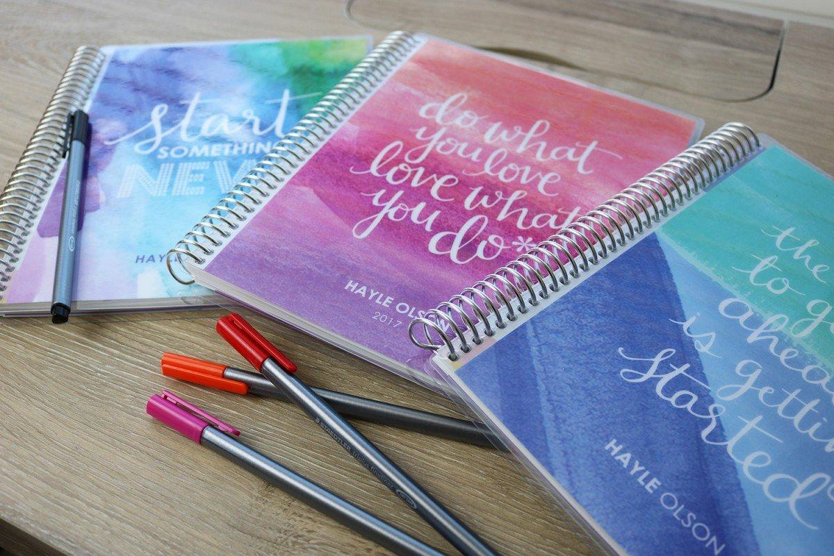 How I Use My Erin Condren Planner | College Tips | Hayle Olson | www.hayleolson.com