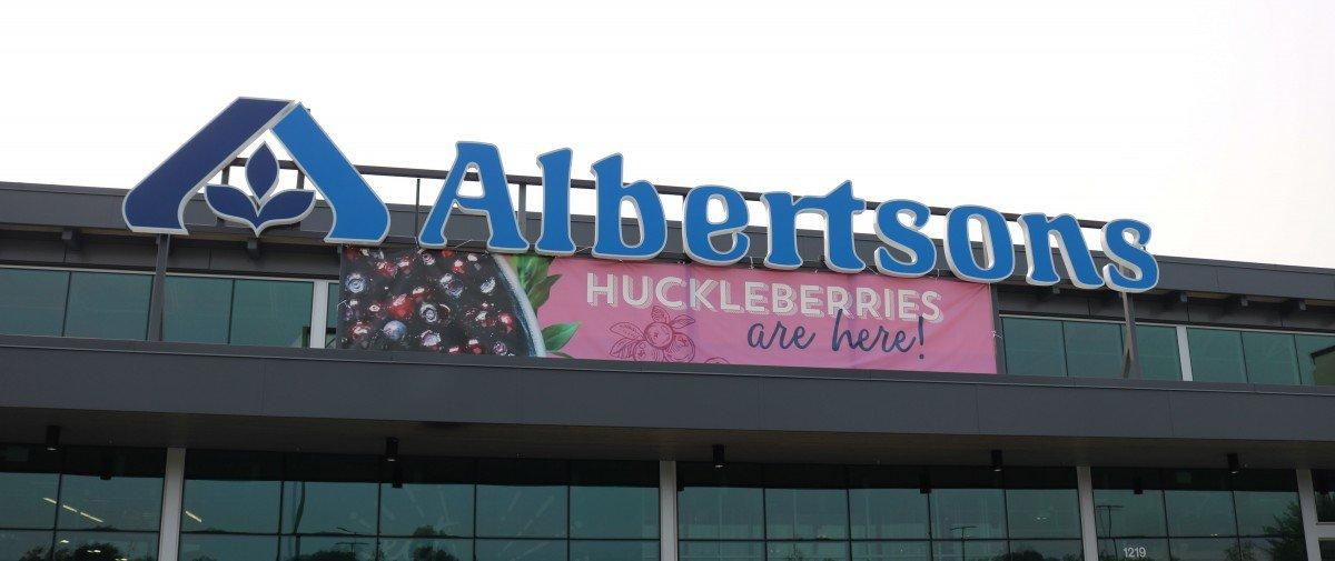 Fresh Huckleberries at Albertsons on Broadway