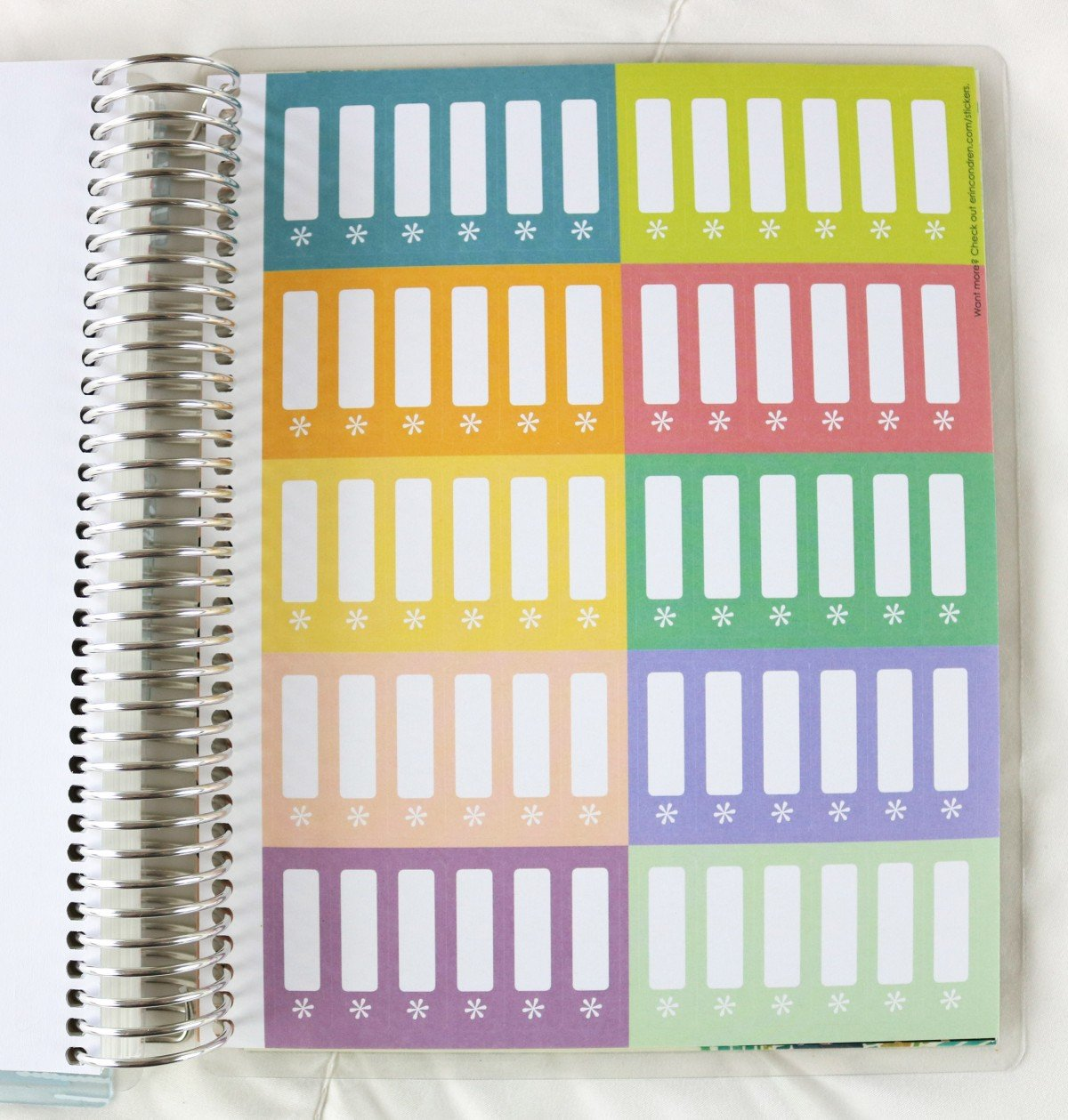 2019 Life Planner Label Stickers