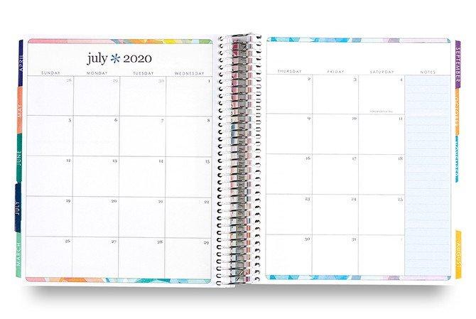 Erin Condren 2020 LifePlanner Monthly Calendar