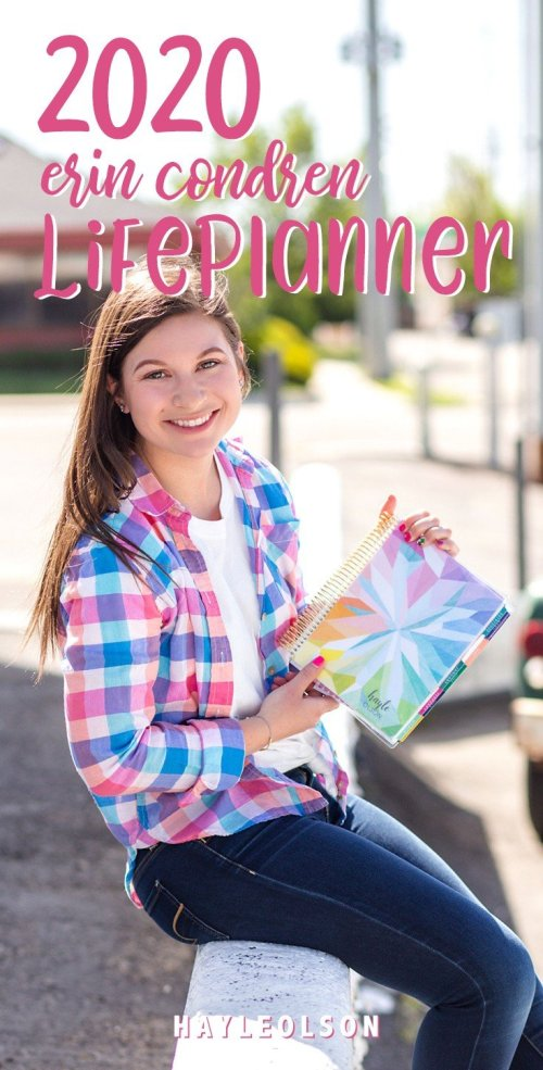 NEW Erin Condren 2020 LifePlanner | Hayle Olson