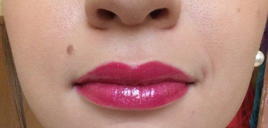 Lipstick (Full Fuchsia) & Lipglass (Viva Glam Miley Cyrus)