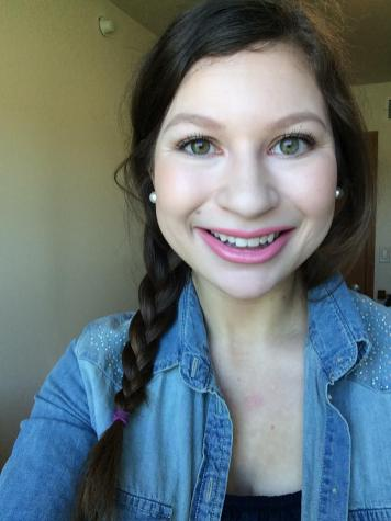 Full face of makeup!