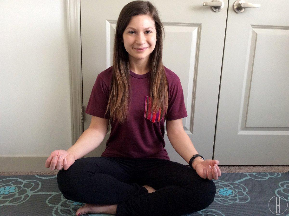 OOTD: Yoga Time | hayle santella | www.haylesantella.com