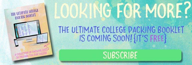 The Ultimate College Packing List | hayle santella | www.haylesantella.com