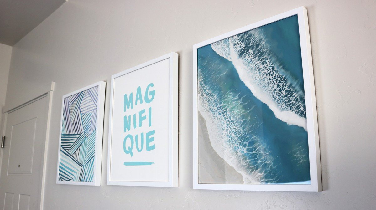 Decorating Your Dorm Room With Art | College Tips | hayle santella | www.haylesantella.com