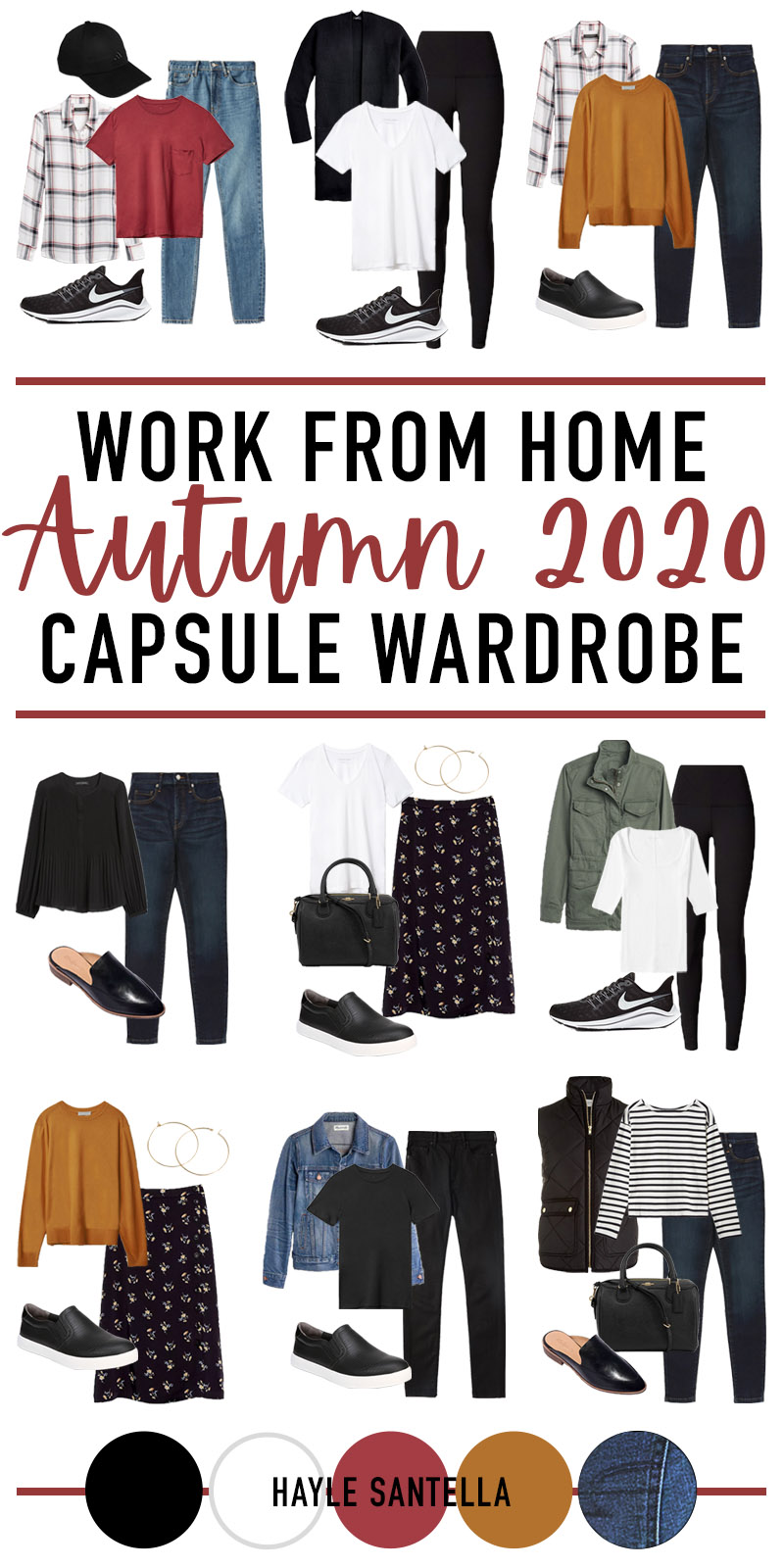 Work From Home Capsule Wardrobe for Fall 2020