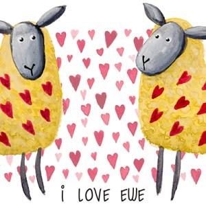 Valentine-sheep-Mug-Two-Tone-design