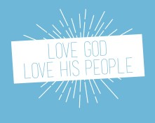 Love God Love People // Fund the Nations T-shirt
