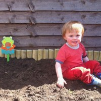 A Toddler Garden {Phase One}