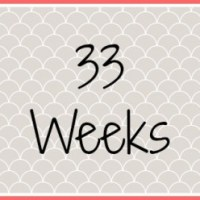 Twin Pregnancy Diary - 33 Weeks