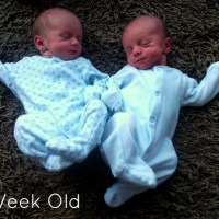 Twin Babies - Week One