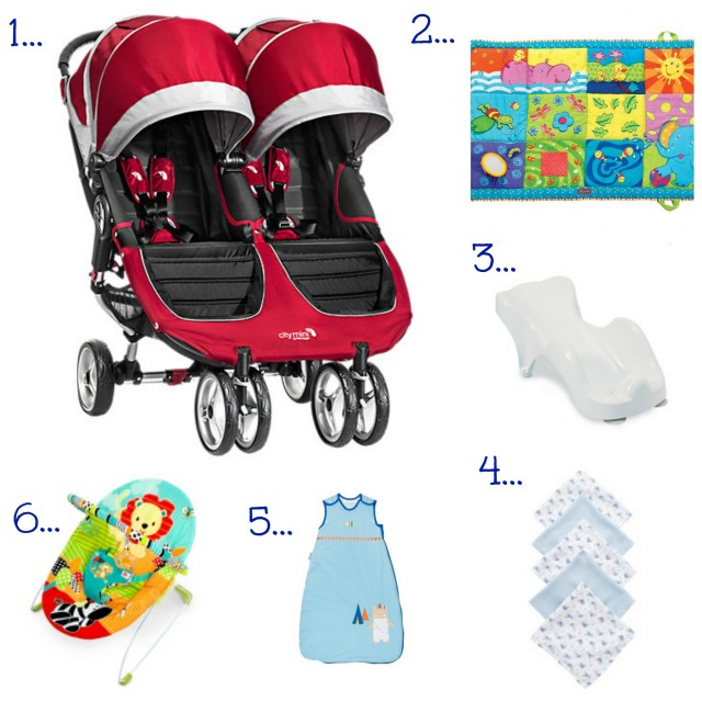 Best buys for twins newborn products