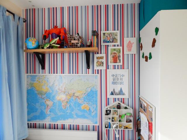 Little Adventurer Boy's Bedroom (10 of 13)