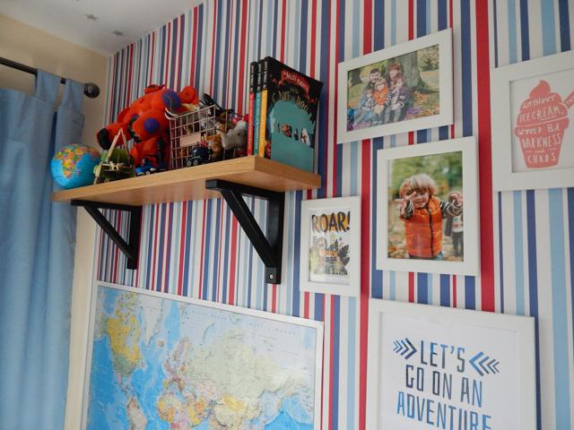 Little Adventurer Boy's Bedroom (4 of 13)