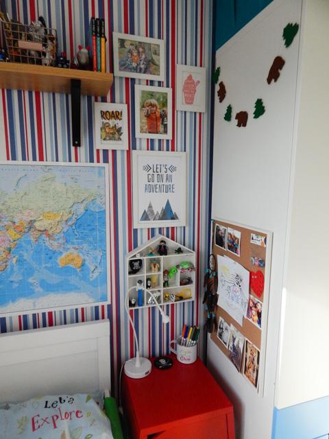 Little Adventurer Boy's Bedroom (9 of 13)
