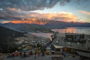 Queenstown Gondola by Hayley Roberts Photography
