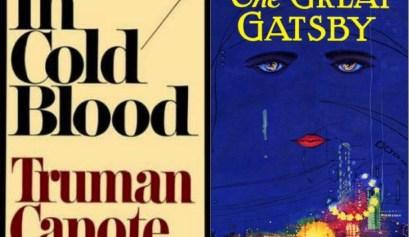 Truman Capote F. Scott Fitzgerald Book Covers