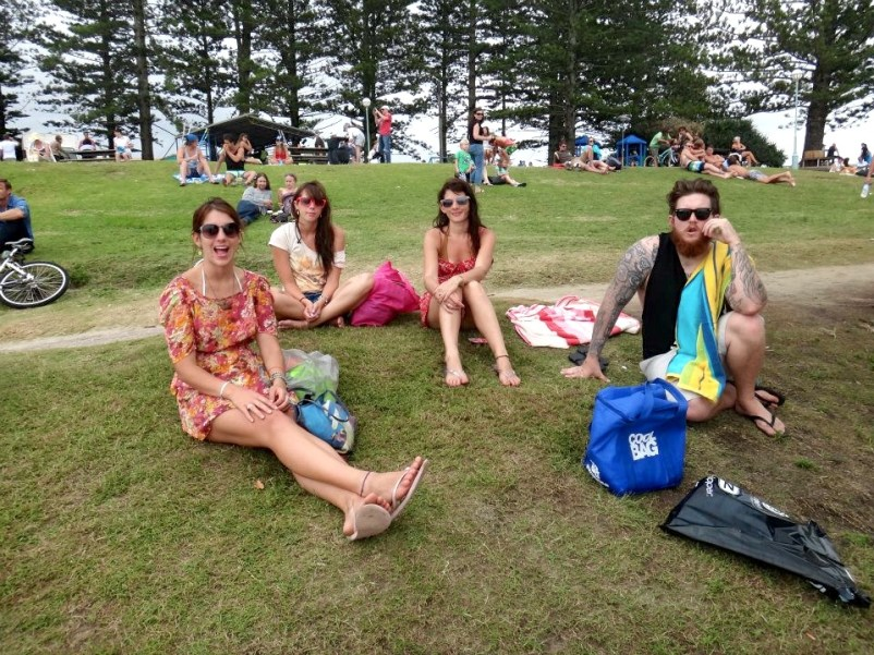 byron bay beach summer girls travel writing road trip workshops