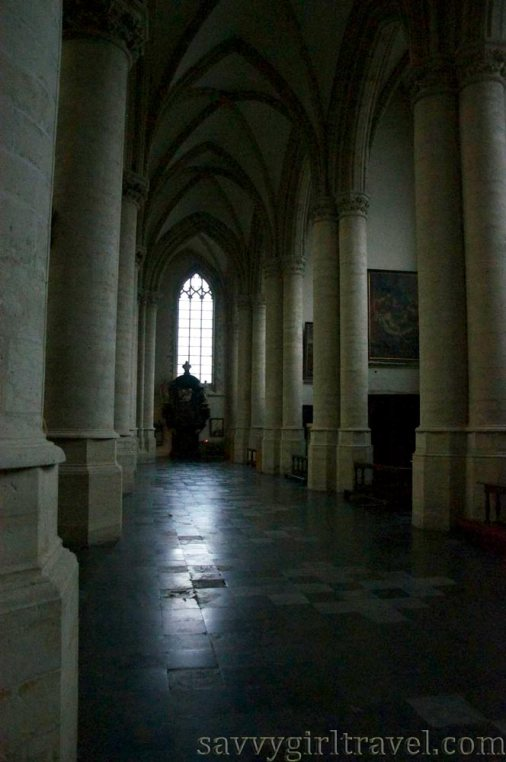 Brussels Belgium Cathedral Solo Traveler Travel Writing Workshops Chapel Church