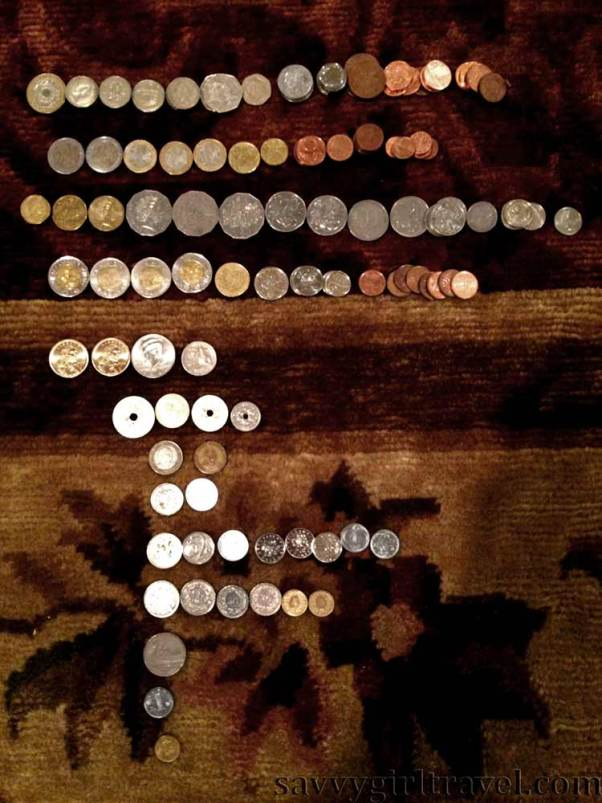 foreign coins travel writing workshops