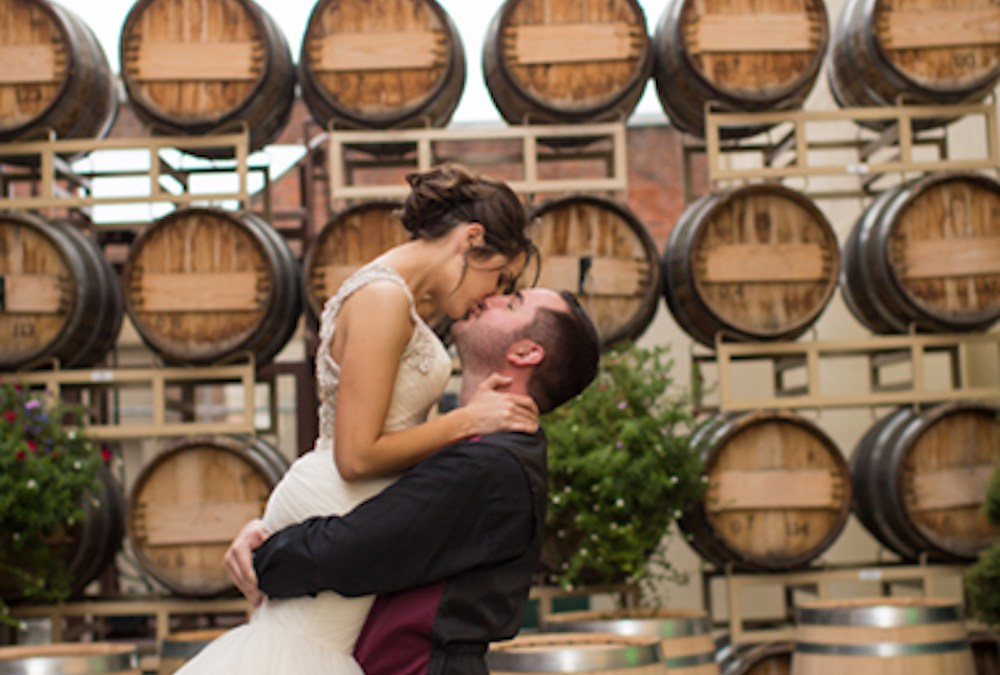 Andrea and Carson | St Aloysius Church and Barrister Winery